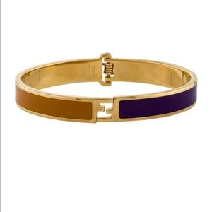 SOLD!!!!   Fendi fendistal enamel bracelet/bangle